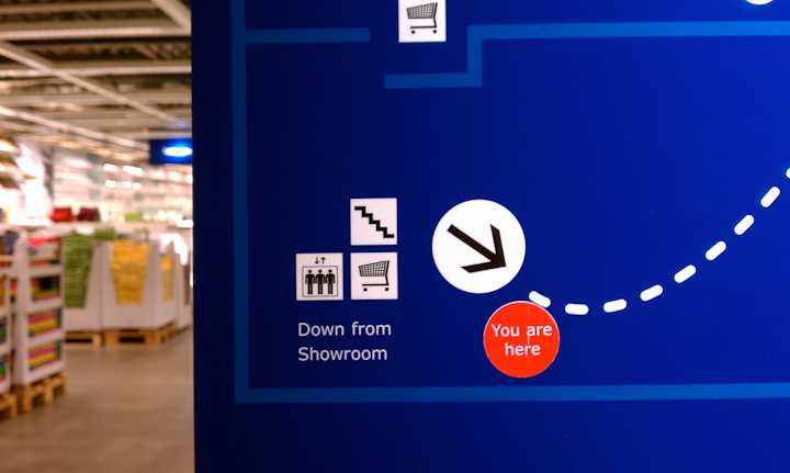 Photo of Ikea Map