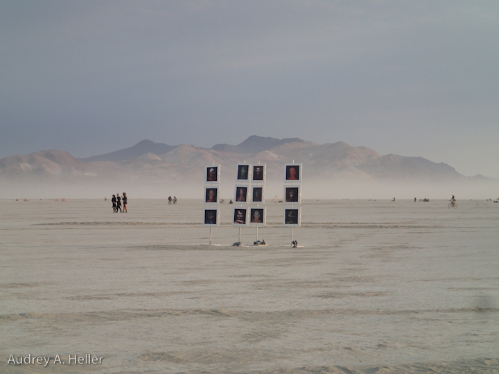 It's easy to forget that the Playa is rimmed with mountains.